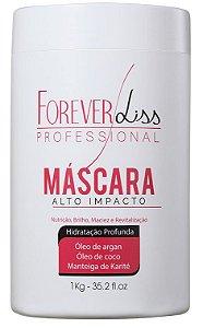 Forever Liss Alto Impacto Mascara de Hidratação 1Kg +Brinde