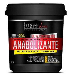 Forever Liss Anabolizante Capilar Força e Nutrição 240g (+Brinde)