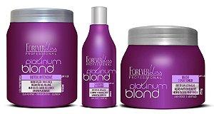 Forever Liss B.tox Matizador 1kg + Kit Platinum Blond (+brinde)