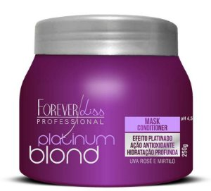 Forever Liss Platinum Blond Mascara p/ Loiros  - 250g (+ Brinde)