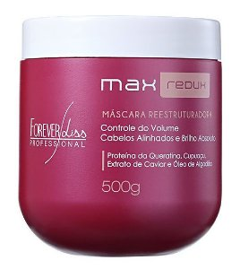 Forever Liss Max Redux B.tox Redutor Sem Formol - 500g (+brinde)