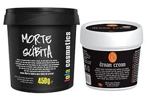 Lola Mascara Morte Súbita 450g + Dream Cream 120g (+ Brinde)