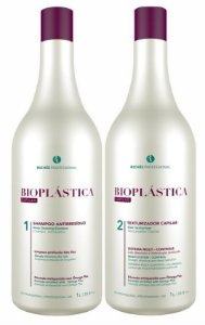 Richée Escova Progressiva Bioplástica Kit 2x1L (+brinde)