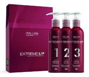 Itallian Hair SOS Extreme Up Reconstrução Kit 3pc (+Brinde)