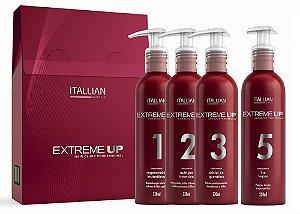 Itallian Extreme Up Hair Clinic SOS Reconstrução kit (4pc)