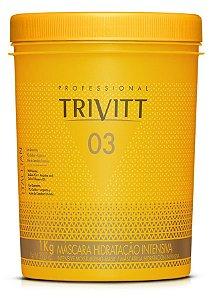 Itallian Trivitt Mascara 1 Kilo Hidratação Intensiva +Brinde
