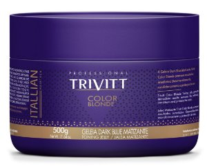 Itallian Trivitt Geléia Dark Blue Matizante Color Blonde - 500g