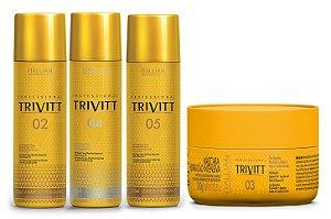 Itallian Trivitt Kit Pós Química Completo (4 produtos) +Brind