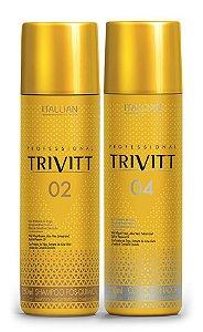 Itallian Trivitt Pós Química Kit Shampoo Sem Sal + Cond (2x 250ml)