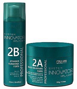 Itallian Innovator Guanidina Ativador 2B + Base Relaxante 2A 500g