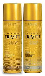 Itallian Trivitt Color Blonde Kit Duo P/ Loiros - (2x250ml)