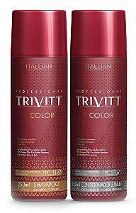 Itallian Trivitt Color Kit Duo Cabelos Coloridos (2x 250ml) +brinde