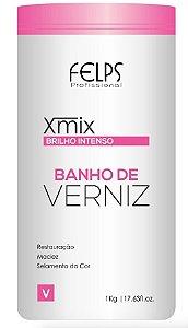 Felps  Banho de Verniz Xmix Brilho Intenso 1Kg