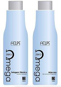 Felps Omega Zero Escova Progressiva S/ Formol (2x1L) +brinde