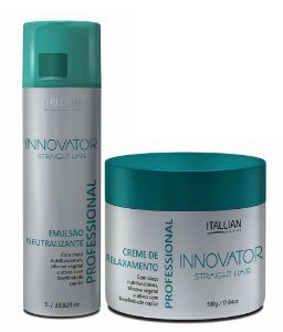 Itallian Hair Innovator Tioglicolato Straight Relaxamento Kit