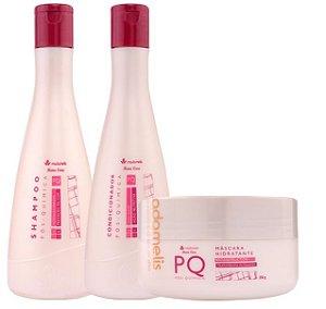 Madame Lis Pós Química Kit Manutenção Home Care (3 Produtos)