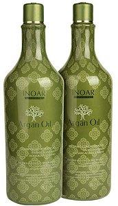 Inoar Argan Oil  Shampoo e Condicionador 2x1 Litro (+brinde)
