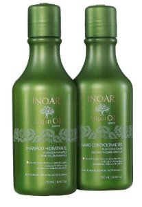 Inoar Argan Oil Shampoo e Condicionador Kit Duo ( 2x250ml + Brinde)