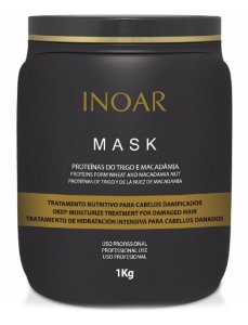 Inoar Mask Máscara Profissional Trigo e Macadâmia - 1kg