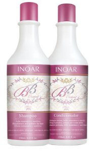 Inoar BB Cream Kit Duo Shampoo + Condic. (2 x 250ml) (+ Brinde)