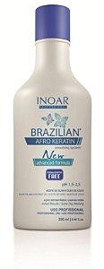Inoar Brazilian Afro Keratin Redutor Volume 250ml (Sem Formol)