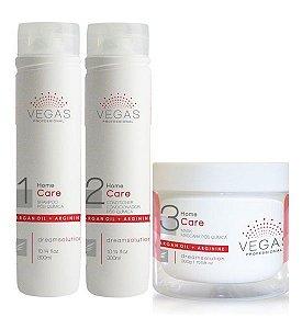Vegas Pós Química Kit Manutenção Home Care (3 Produtos)