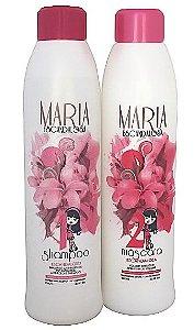 Escova Progressiva Maria Escandalosa Kit 2x1L (100% Original +Brinde)