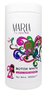 B.tox Capilar Maria Escandalosa White 1kg +Brinde