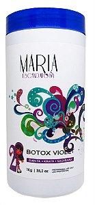 Maria Escandalosa B.tox Capilar Violet Matizador - 1kg +Brinde