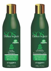 Le Charmes SOS Detox Repair Reconstrutor Kit 2x500ml