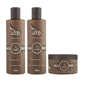 Zap All Day Kit Manutenção Pós Progressiva (3pc)