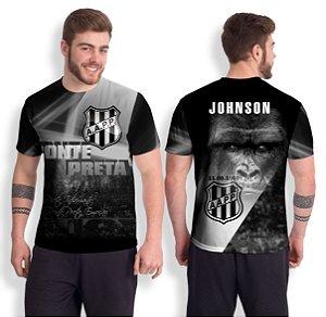 Camiseta Ponte Preta – Personalizável Nome/Número