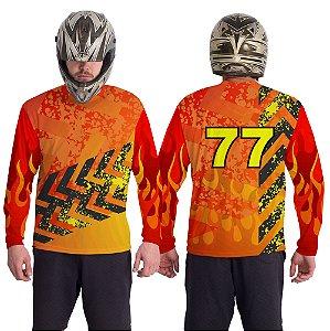 Camiseta Estampa 07– Personalizável Nome/Número