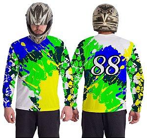 Camiseta Estampa 08– Personalizável Nome/Número