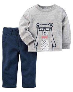 Conjunto de Inverno para bebês Carters - Urso