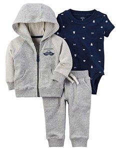 Conjunto de Inverno para bebês Carters - Homenzinho