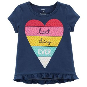 Camiseta Carters Best Day Ever