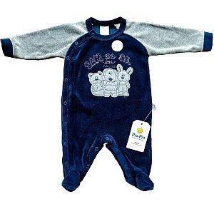 Macacão Plush para Bebês - Os Amigos