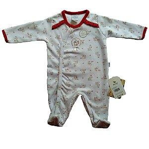 Macacão para Bebês em Algodão Egípcio - Patinha