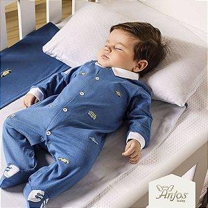 Macacão Longo Bebê Menino - Carros