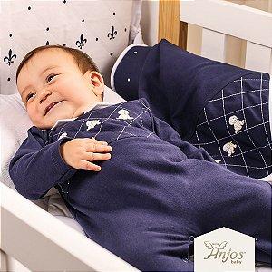 Saída Maternidade Menino - Anjos Baby - Dogs - 2 peças