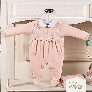 Saída Maternidade Menina - Balões - 2 peças