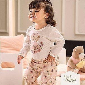 Conjunto de Inverno para Bebês - Ursinha - Anjos Baby