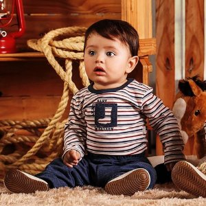 Conjunto Inverno para bebês 2 peças - Botinha Cowboy
