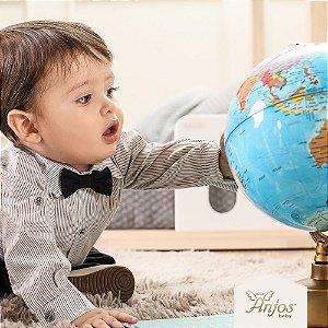 Conjunto Social para Bebê - Gravatinha
