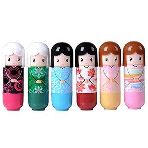 Lip Balm Kimono Doll Pattern