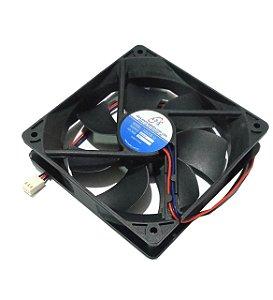 Cooler ASAFAN 12V 12025S-12 120X120X25mm BUCHA 3000 rpm Amp.: 0,37 - 1202512B