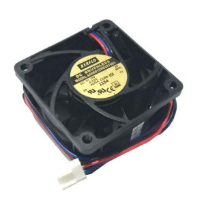 COOLER 60X60X25 - 12V - ROLAMENTO 0.23 AMP - 2.76 WATTS - 5300 RPM - 28.55 CFM 43.1 DB(A) - BERFLO AG06012HB257603(00H3)