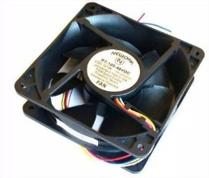 Cooler Nework 48V RT-120 16.118 120x120x38mm ROLAMENTO Amp.:	0,12 RPM: 2600 4 FIOS S/ CONECTOR