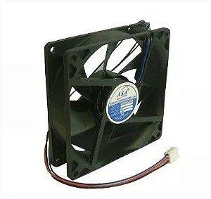 Cooler Adda 24V 9225B-24 D90 90X90X25mm ROLAMENTO Amp.: 0,30 RPM: 3000 3 FIOS C/ CONECTOR  - 902524R
